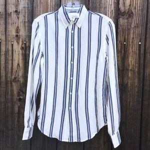 Brandy Melville Button Down Stripe Shirt